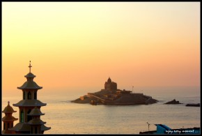 Sunset, Kanyakumari