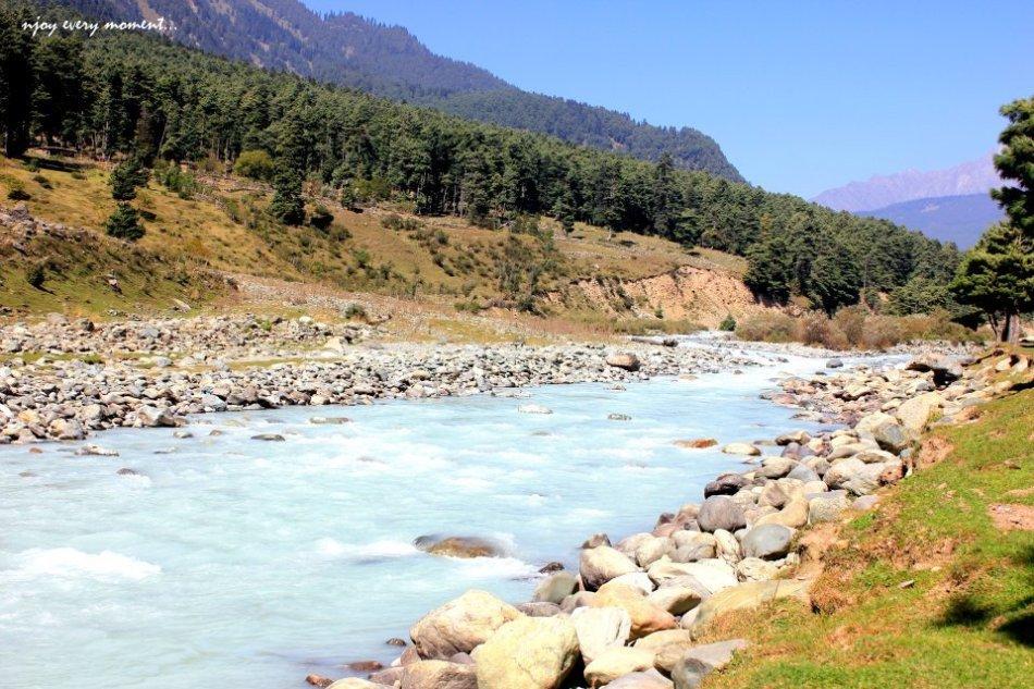 Liddar - River Pahalgam